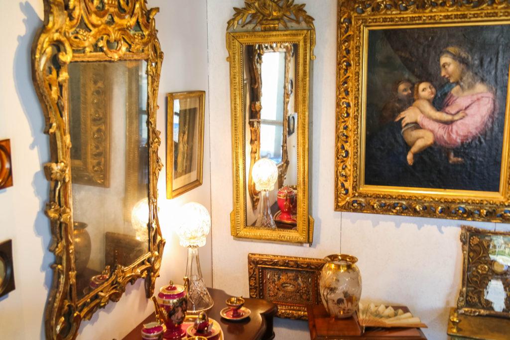 vue boutique miroir